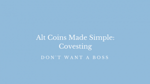 Alt Coins Made Simple: Covesting