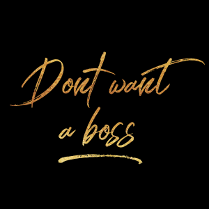 dont want a boss logo