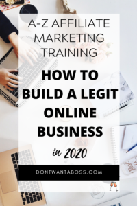 wealthy affiliate university - a-z affiliate marketing training and how to build a legit online business in 2020