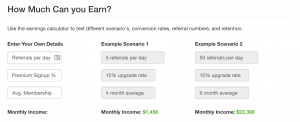 Possible Earnings As An Affiliate