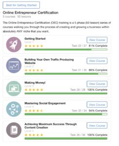Online Entrepreneur Certification Course