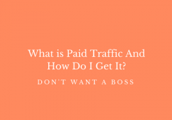 What is Paid Traffic And How Do I Get It?