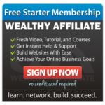 wealthy affiliate university - starter membership