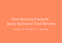 Free Keyword Search - Jaaxy Keyword Tool Review