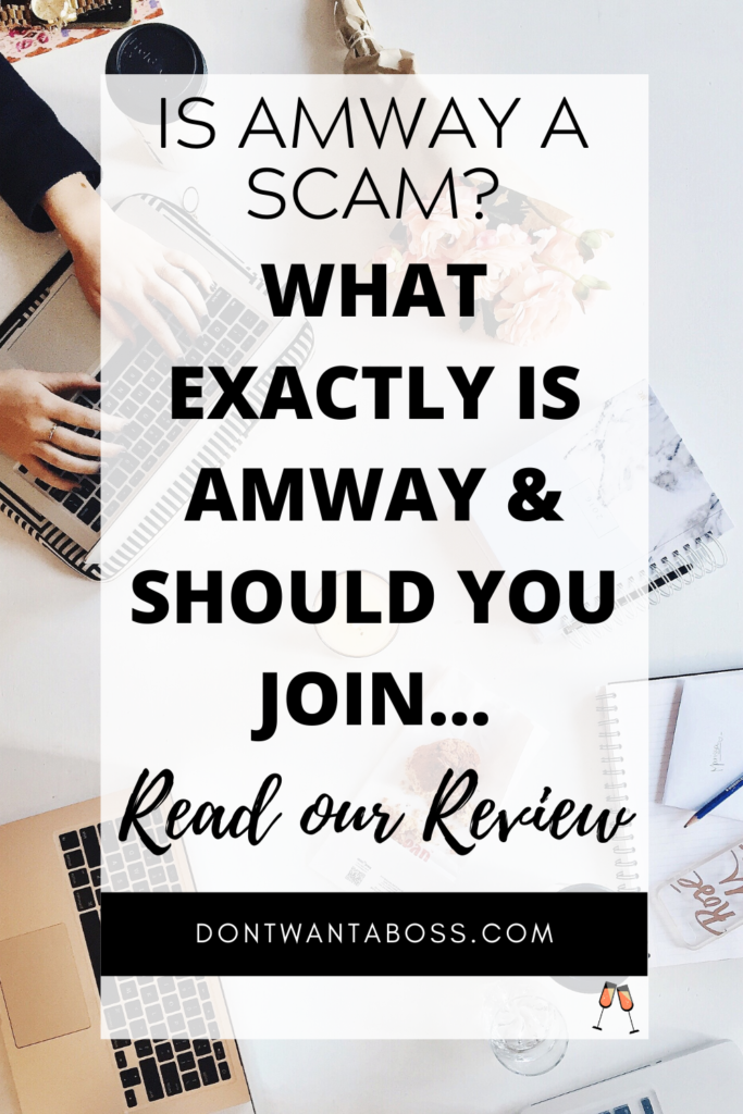 Is Amway a Scam? What Exactly is Amway & Should you Join read our review