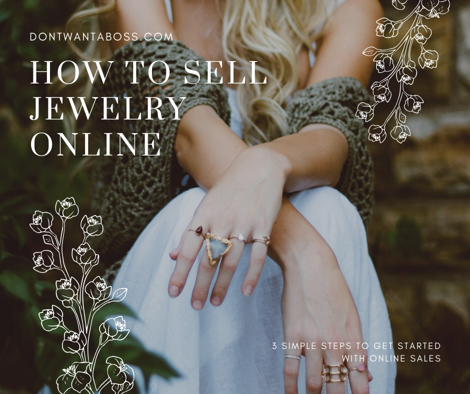 How to Sell Jewelry Online in 3 Simple Steps