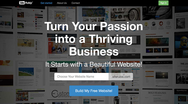 Build Your Free Website