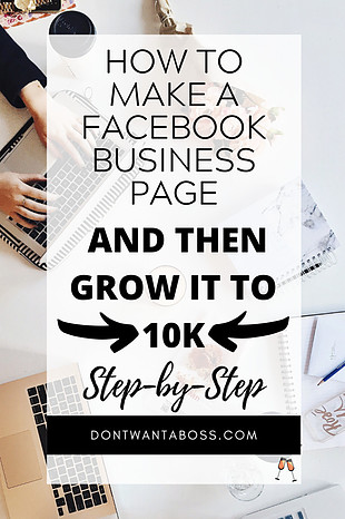 How to Make a Facebook Page & Grow it to 10k