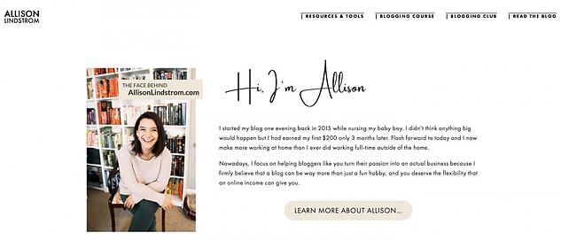 Inside Allison Lindstrom