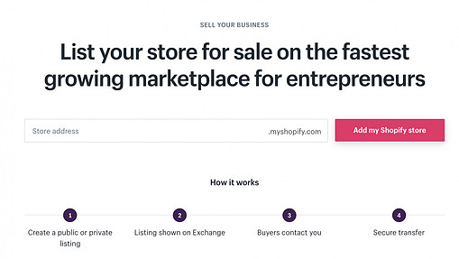 selling sites online on Exchange Marketplace