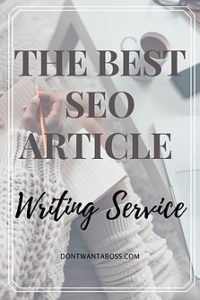 the best seo article writing service