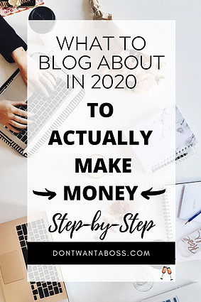 what to blog about to make money