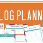 Blog Planner 2020