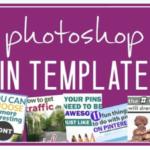 Photoshop Pin Templates