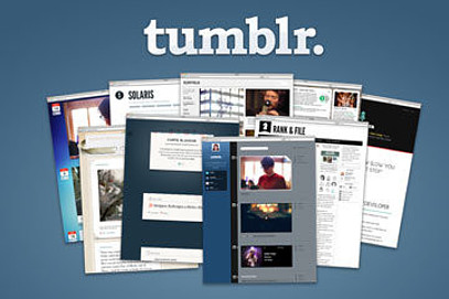 free blogging websites - tumblr