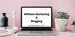 affiliate marketing blogging