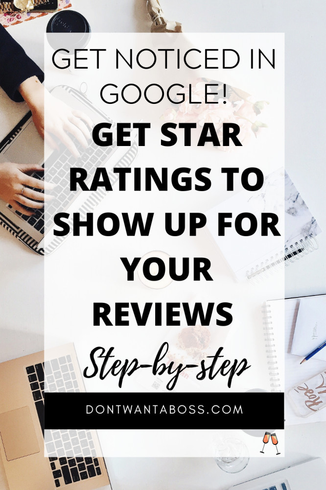 how to get star ratings in google search results