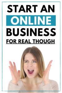 start an online business - starting an online business