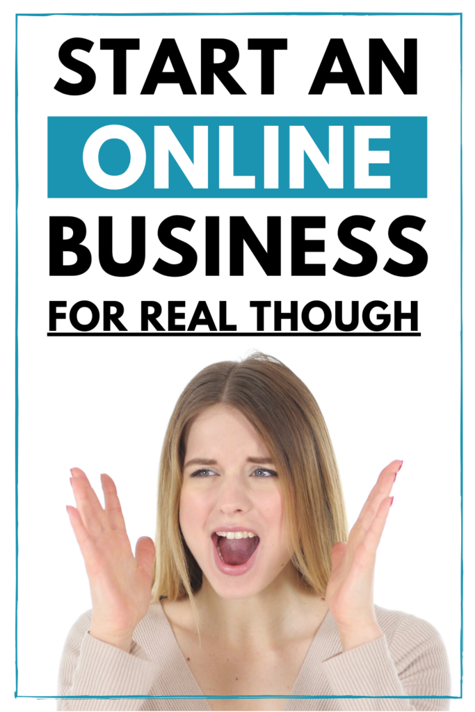 start an online business - starting an online business